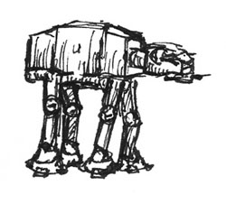 AT-AT Sketch