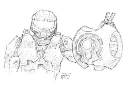 Master Chief and 343 Guilty Spark