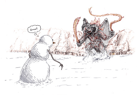 Snowman and Balrog (small)