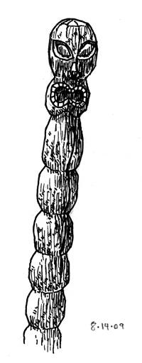 Tiki Pole