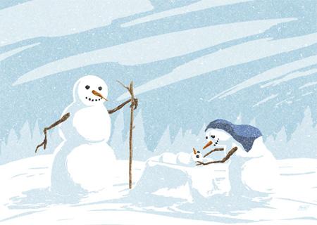 snowman_nativity