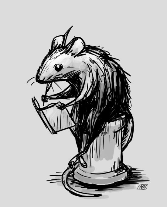 Literate Rat